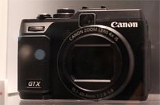 佳能旗舰小型相机G1 X亮相