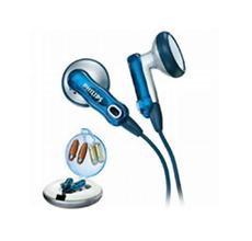 飞利浦可换彩壳耳机送耳机包/绕线器