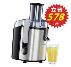 飞利浦HR1861榨汁机 更多果汁更少忙乱
