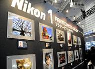 尼康1展台