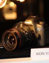佳能E5D Mark III发布会现场