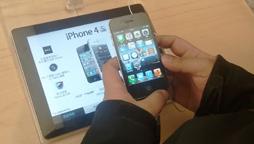 苹果店手机体验