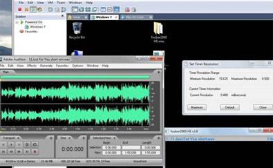 音乐人用固态硬盘制作音频