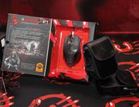 血手幽灵V5游戏鼠标包装展示