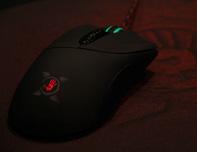 血手幽灵游戏鼠标灯光效果展示