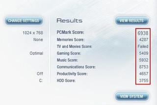 PCMARK整机性能考评