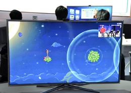 海信电视体感游戏体验