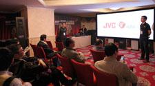 JVC 4K 3D投影机巡演上海站