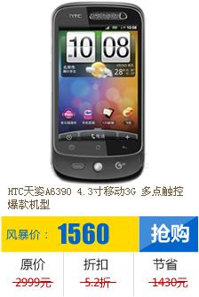 HTC A6390