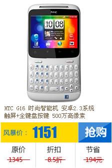 HTC G16