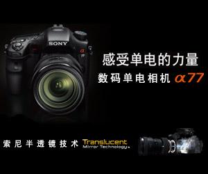 感受单电的力量 数码单电相机A77
