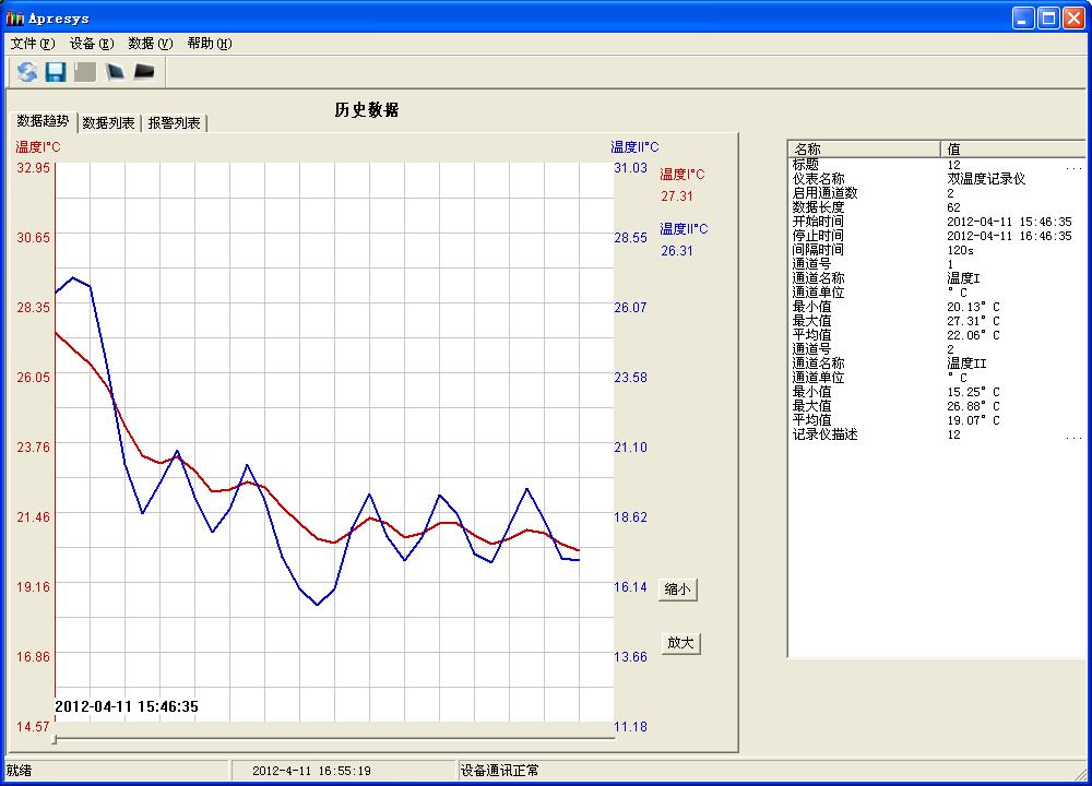 海信空调制冷曲线