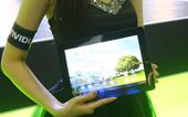 NVIDIA模特展示平板