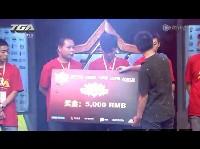 QQ炫舞赛颁奖仪式