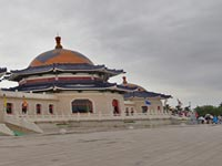 成吉思汗陵:纵横开拓之旅第四站