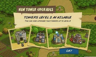 游戏解锁及防御塔升级过程