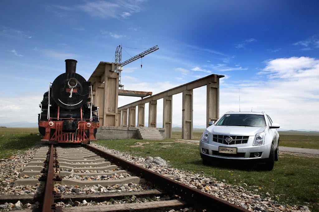 火车头与SRX合影