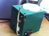 网友自制简易小型洗衣机