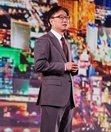 三星视觉显示部总裁发布五代智能电视