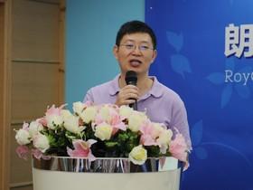 朗琴公司总经理张义春先生演讲