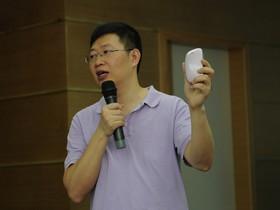 朗琴总经理张义春讲解X3III音响