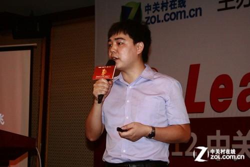 广州站总经理胡艳龙致辞