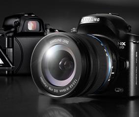 三星NX20智能微单相机