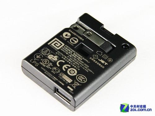 标配5V/1A充电适配器