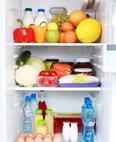 冰箱内食物别太满