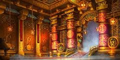 熊猫人团队副本莫古山宫殿概念图