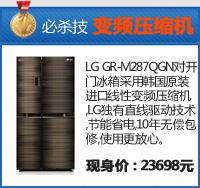 LG多开门冰箱