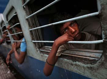 印度停电事故高清纪实