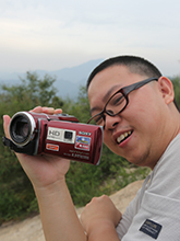 索尼PJ-260E摄像机青龙峡外拍试用