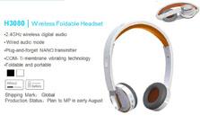 雷柏3080无线耳机
