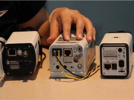 720P成像 三款网络监控摄像机对比