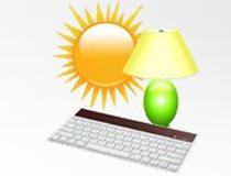 光能供电键盘