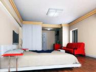 卧室改造个人影院