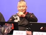 郑伟腾先生正在演说
