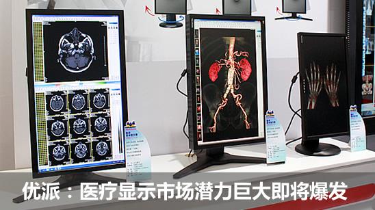 优派:医疗显示市场潜力巨大即将爆发