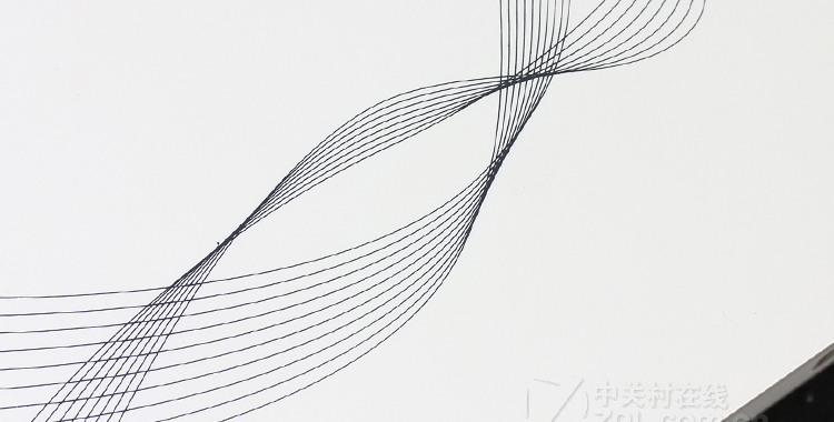 立体动感的花纹