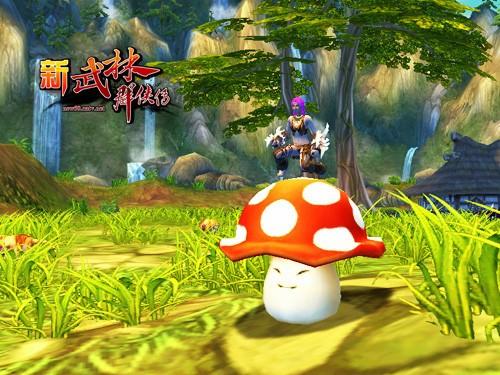 骑着蘑菇打天下《新武林》最雷坐骑全场