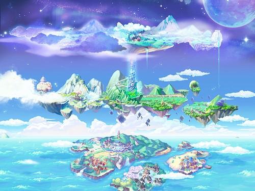 《彩虹岛》全新游戏世界观!神界登场!