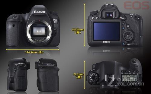 佳能6D套机(24-105mm) 银川售价12000元