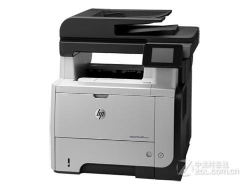自动双面打印 HP M521dn 促销售价6600元