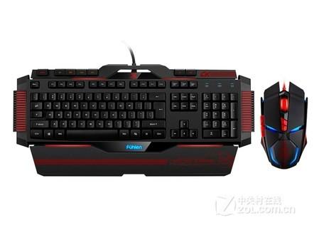 充满科技感 富勒X3静电容游戏键鼠安徽售362