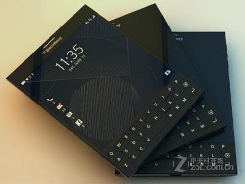 经典商务范 黑莓Q30键盘手机特价1100元