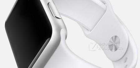 3 38mm白色 苹果手表运动款仅2050元
