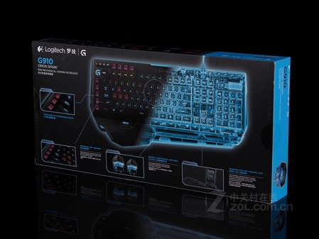 罗技 G910黑色 细节图