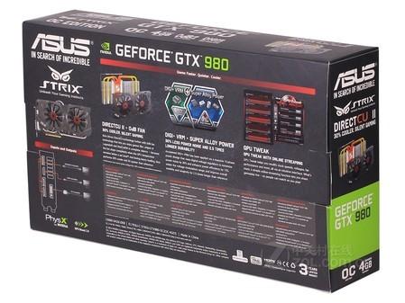 华硕 STRIX-GTX 980-DC2OC-4GD5显卡安徽售