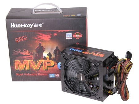 60秒延时散热 航嘉MVP600电源仅售370元